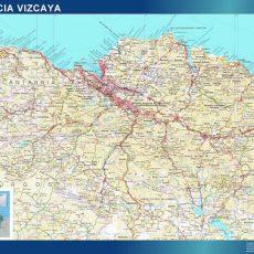 Map of Vizcaya