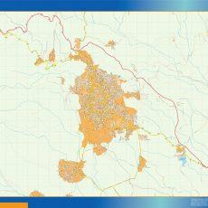 Map of Xalapa