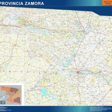 Map of Zamora