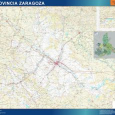 Map of Zaragoza
