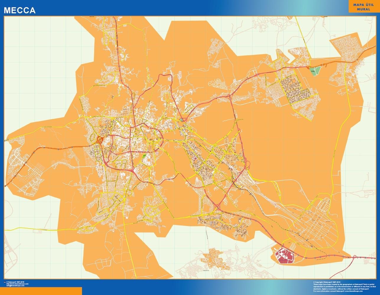 Saudi Arabia City Maps The Wall Maps Wall Maps of the World