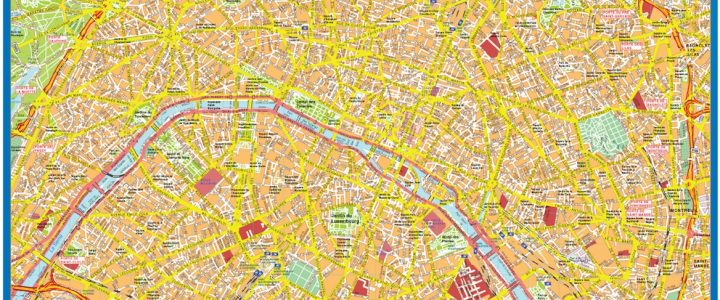 Paris Downtown Map