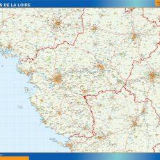Pays De La Loire Map