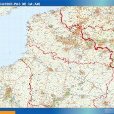 Picardie Pas Calais Map