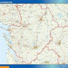 Poitou Charentes Map