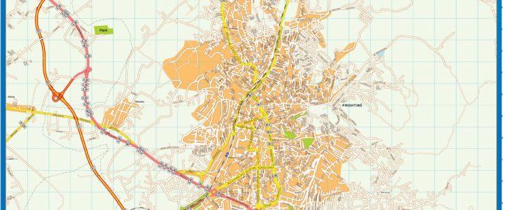 Pristine Downtown Map