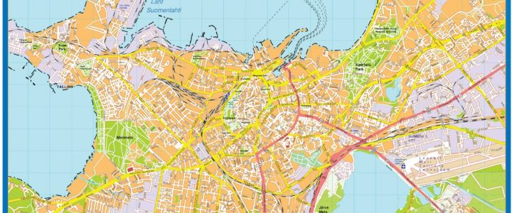 Tallinn Downtown Map