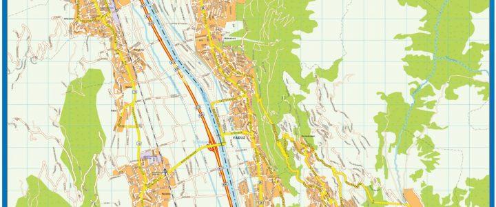 Vaduz Downtown Map