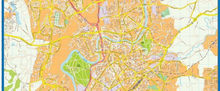 Vilnius Downtown Map