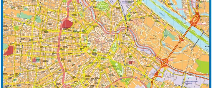 Wien Downtown Map