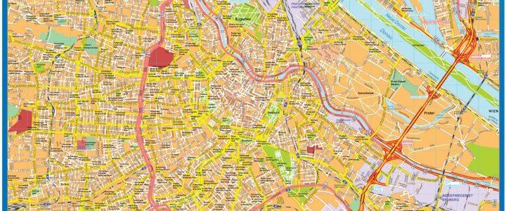 Wien Downtown Map