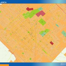 Citymap Bahia Blanca Argentina maps