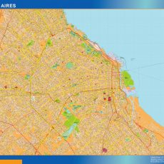 Citymap Buenos Aires Argentina maps