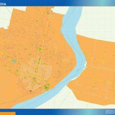Citymap Concordia Argentina maps