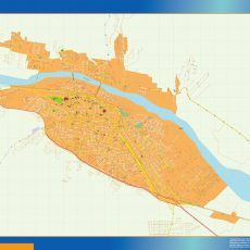 Citymap Jujuy Argentina maps