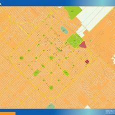 Citymap La Plata Argentina maps