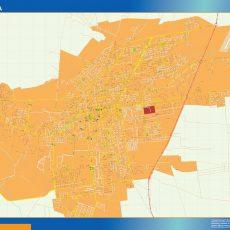 Citymap La Rioja Argentina maps