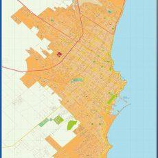 Citymap Mar del Plata Argentina maps