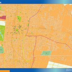 Citymap Mendoza Argentina maps