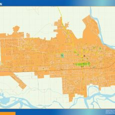 Citymap Neuquen Argentina maps