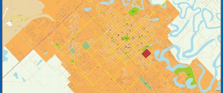 Citymap Resistencia Argentina maps