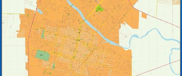 Citymap Rio Cuarto Argentina maps