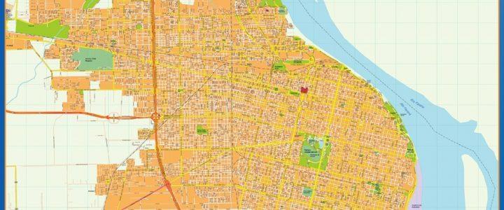 Citymap Rosario Argentina maps