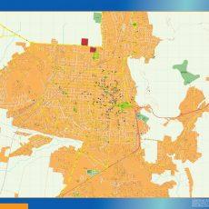 Citymap Salta Argentina maps