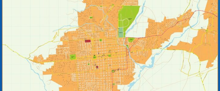 Citymap San Fernando del Valle Catamarca Argentina maps