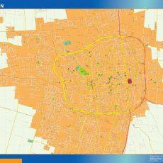 Citymap San Juan Argentina maps