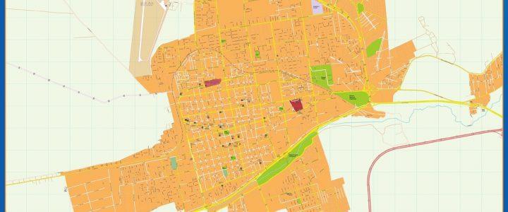 Citymap San Luis Argentina maps