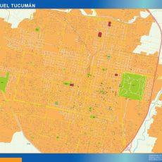 Citymap San Miguel Tucuman Argentina maps