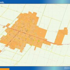 Citymap San Rafael Argentina maps