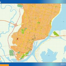 Citymap Santa Fe Argentina maps