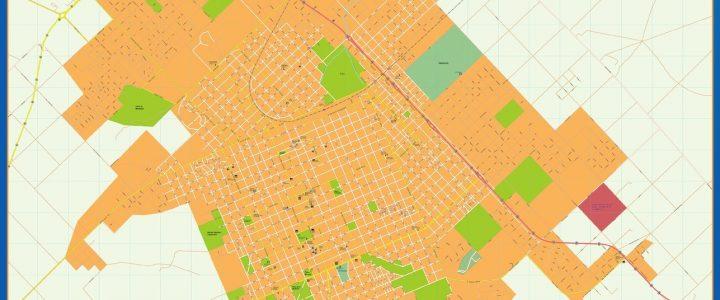 Citymap Tandil Argentina maps